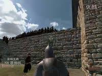 热门片段 骑马与砍杀1敌200之火与剑 一人力战200人以一敌200!!!!!-骑马与砍杀