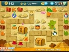 保卫萝卜沙漠模式第4关 小游戏视频攻略