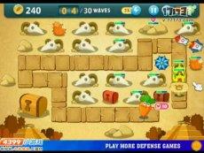 保卫萝卜沙漠模式第8关 小游戏视频攻略