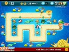 保卫萝卜沙漠模式第14关 小游戏视频攻略