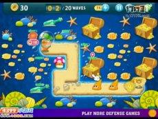 保卫萝卜沙漠模式第17关 小游戏视频攻略
