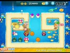 保卫萝卜沙漠模式第22关 小游戏视频攻略