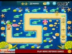 保卫萝卜沙漠模式第21关 小游戏视频攻略
