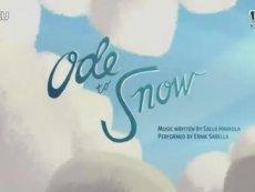 知名配音献声《捣蛋猪》特制视频歌颂白雪