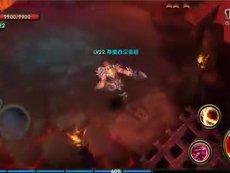《暗黑战神》狂战士大剑操作视频实录