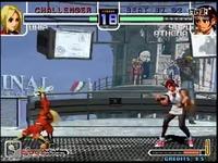 《拳皇2002网站》Kyo&Kula_VS_爱玩火法的毛毛球