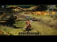 怪物猎人OL[八幡]雌火龙挑战!-大剑【刀尖之上】