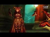 玩家制作魔兽MV欣赏:阿莱克斯塔萨