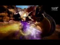 《黑色沙漠》日服觉醒武器女巫战斗画面