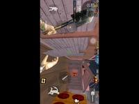【CF穿越火线手游嗨潮】BUG   新年广场中门挂板bug教程。    穿越火线手游BUG-原创 焦