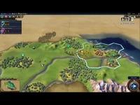 中国古风BGM好评 《文明6》首部游戏实机视频演示