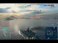 【战舰世界】杠线北卡,你们都说杠线的船沉,怎么我