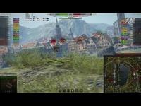 合集 坦克世界 游戏视频 中国中系7级 C系Ⅶ级 WZ131 游走点亮伏击 地图 二合一合集-WZ1