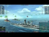 海战世界-日系-线路-大和-四万一千伤害-五杀-Lion老虎解说-海战世界 精彩片段
