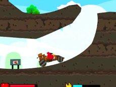 视频片段 《愤怒的小鸟越野》射击愤怒的小鸟游戏亲子早教系列-原创