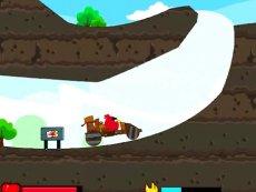 《愤怒的小鸟越野》射击愤怒的小鸟游戏亲子早教系列-原创 集锦