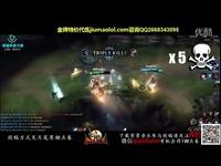 英雄联盟LOL-路人王-新英雄龙王索尔全球首个八连杀-英雄联盟LOL 热门短片