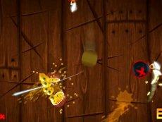 精彩视频 手机游戏系列 水果忍者游戏试玩-原创