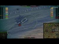 坦克世界 游戏视频 美国美系8级 M系VIII级 轻型坦克 T49 专业喷子轻坦 游走蹲坑 M级大口