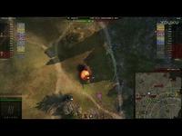 坦克世界 游戏视频 美国美系8级 M系 Ⅷ级 自行火炮 银币坦克 M40M43 白板炮 远程打击-自