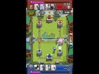 [moba新视界]部落冲突皇室战争视频:双王子对抗双电 视频直击