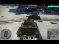 极光耀斑【战争雷霆】四号坦克G型 集锦