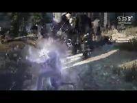 《黑色沙漠》黑暗骑士战斗画面