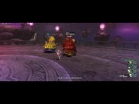 【DQX】BOSS!试炼之门-密林守卫 法僧师星 明星视角【勇者斗恶龙X】 焦点视频