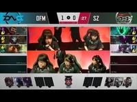 2017LJL日本春季赛第8周 SZ vs DFM 第2场