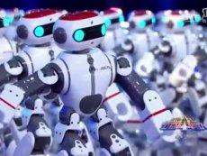 人工智能机器人太极拳舞蹈
