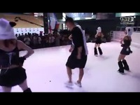舞动CJ《太极熊猫3:猎龙》萌舞团火爆现场