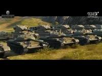 《坦克世界》大战场今日开放 60人坦克巅峰对战