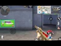 CF手游小宝哥-最新神器AK47牡丹精灵试玩-一把可