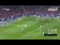 赛季西甲联赛第8轮集锦马德里竞技VS巴塞罗那