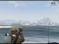 三男一犬,射擊練習/海洋