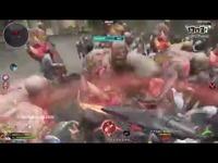 逆战:拿魔鲲光剑打冒险模式,伤害恐怖爆表!